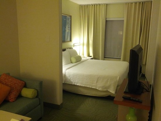 SpringHill Suites Chicago Lincolnshire : View of the entire room