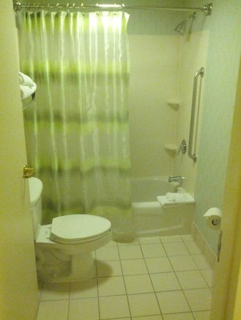 SpringHill Suites Chicago Lincolnshire : Bathroom