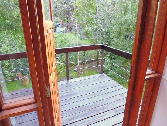 Mirando al Sur: Vista al deck