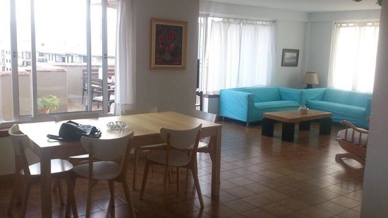 Apartamentos Bressol: Penthouse, living room