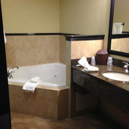 the jacuzzi tub was excellent - Picture of Drury Plaza Hotel San Antonio North Stone Oak, San ...