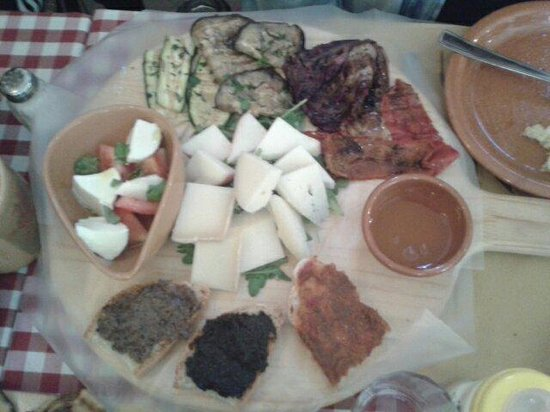 La Bottega del Giullare: Tagliere vegetariano