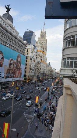 Regente Hotel : vista desde el balcon