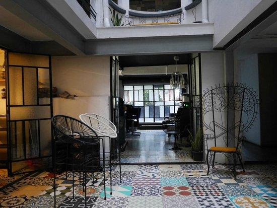 Stayinn Barefoot Condesa: Hall d'entrée