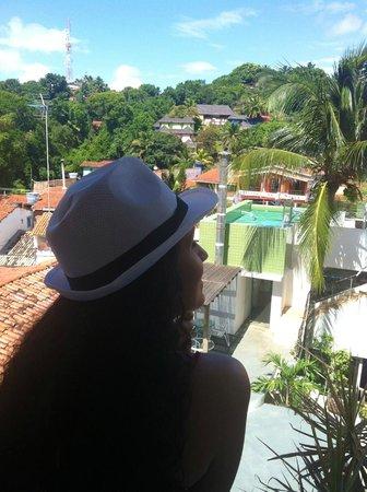 Solar Das Artes Pousada Boutique - Morro: Acordar de cara com essa vista, bom demais!