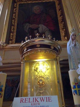 Family Home of John Paul II: Relic of St.John Paul 2nd...