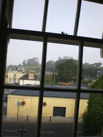 Baileys Hotel Cashel: vista del castillo, desde la habitación