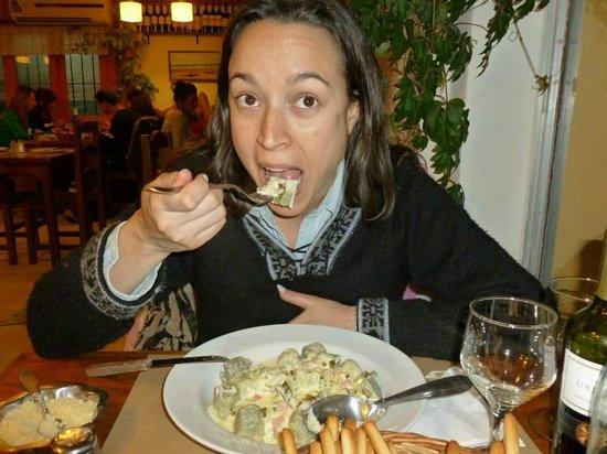 La Gallina Turuleca: Ravioles de verdura