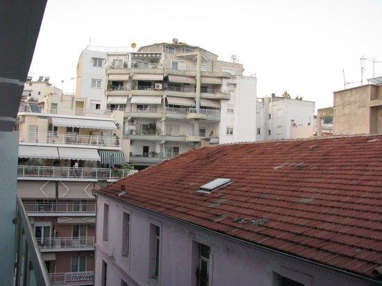 Esperia Hotel: Uitzicht vanuit de kamer