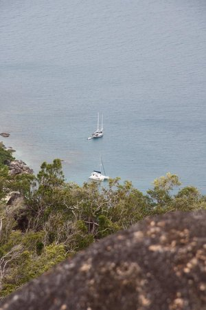 Fitzroy Island National Park: The view from the summit
