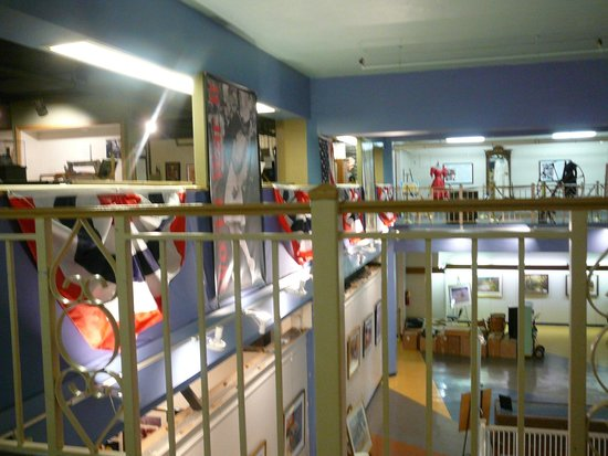 Highlands Museum and Discovery Center: another view of the mezzanine exhibit area