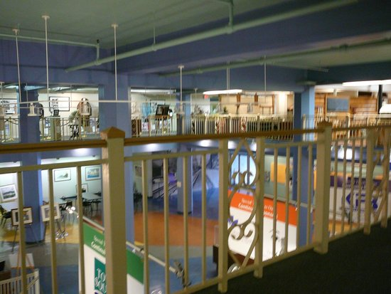 Highlands Museum and Discovery Center: mezzanine exhibit area - 1
