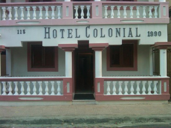 Hotel Colonial: Hotel front