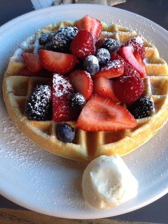 Cafe Borrone : Waffles
