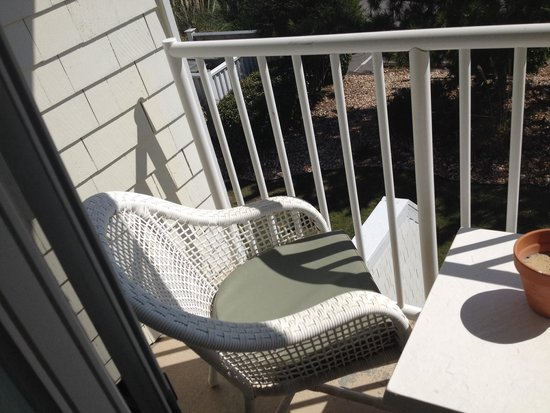 The Villas of Hatteras Landing: Balcony ( 2 chairs)