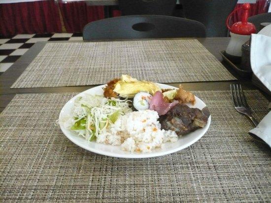 Federalne Stany Mikronezji: Gangnam Street buffet food