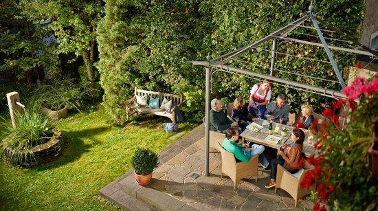 Ringhotel Bomers Mosellandhotel: Pavillon im Hotelgarten