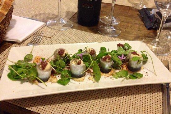El Gallinero De Sandra : Sardoni marinati kn humus