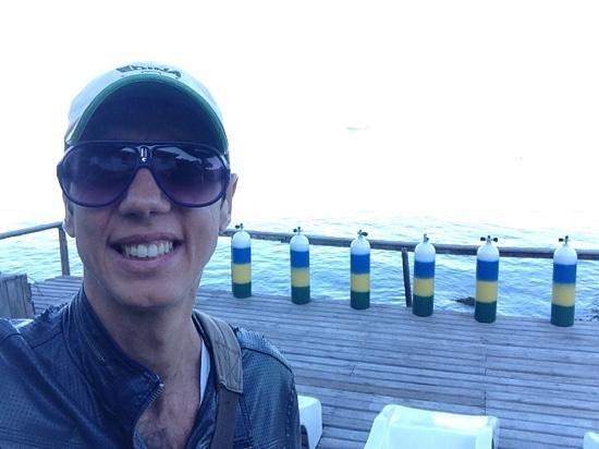 Pousada Pier 7400: Deck com uma vista linda
