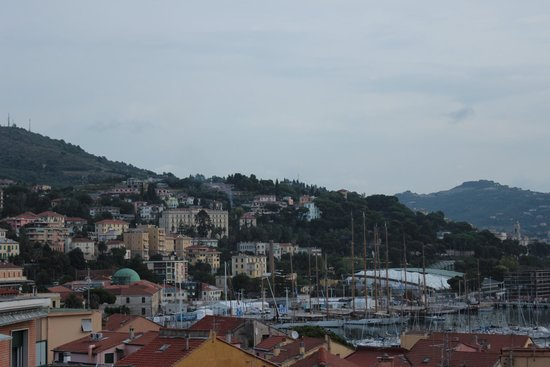 Hotel Ariston : View from our room!
