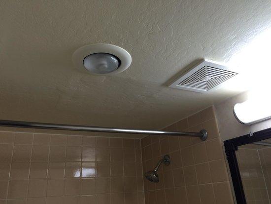 Best Western Plus Grosvenor Airport Hotel : no curtains in shower