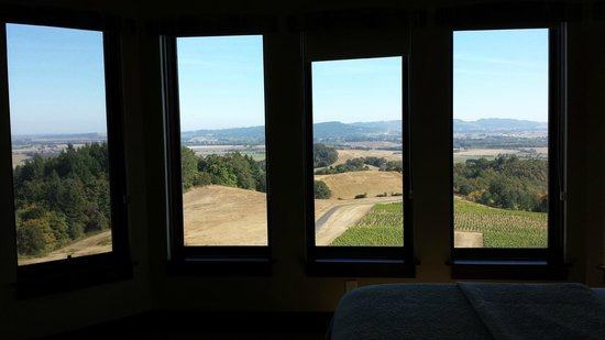 Youngberg Hill : View from Juro room