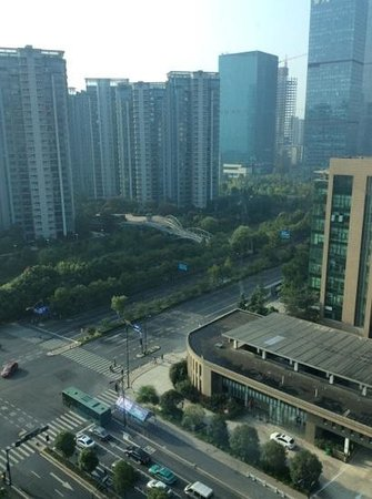 Holiday Inn Hangzhou CBD: view from room