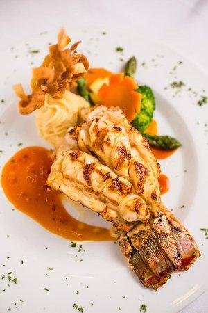 The Promenade: Broiled Caribbean rock Lobster