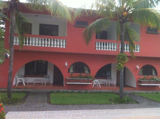 Apartotel Flamboyant : Vista de las Habitaciones.