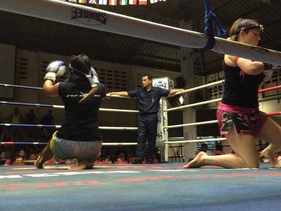 Patong Boxing Stadium: VIP seats.