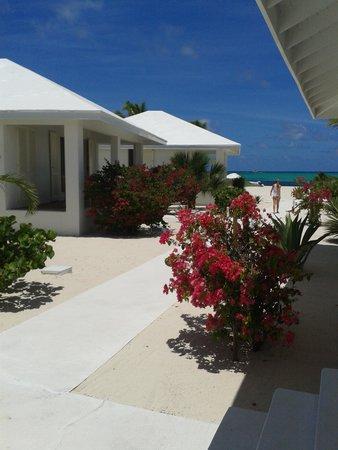 Guanahani Beach Club Resort : Vista panoramica de las cabaña