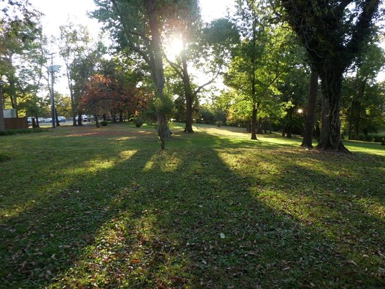 Beaumont Inn: Grounds by Main Building
