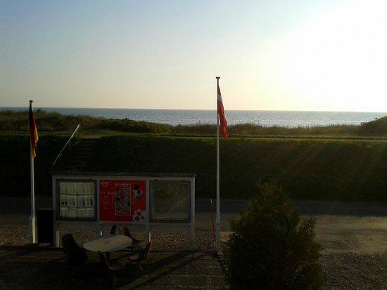 Dannemare, Danmark: Blick von der Terrasse
