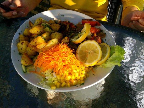 Dannemare, Denmark: Köstliches Mahl
