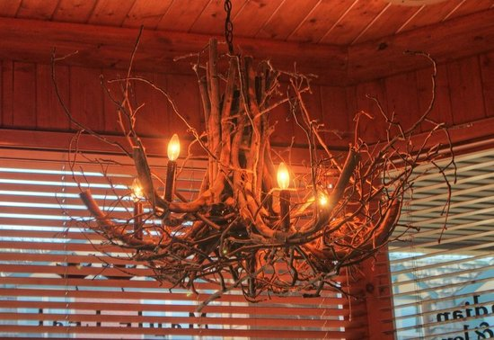 "The Maple Leaf: branches ""chandelier"""