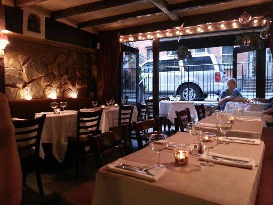 The Place : Main restaurant