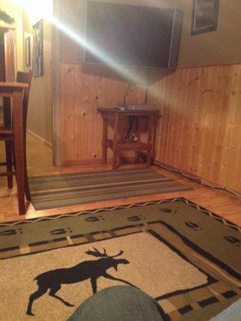 Moose Creek Inn : Moose Suite Living Room