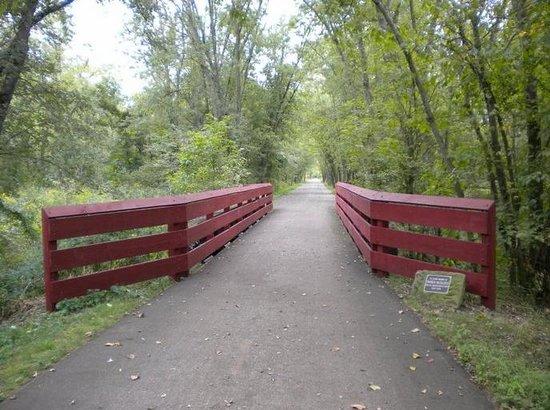 Holmes County Trail: View near Killbuck, Ohio.