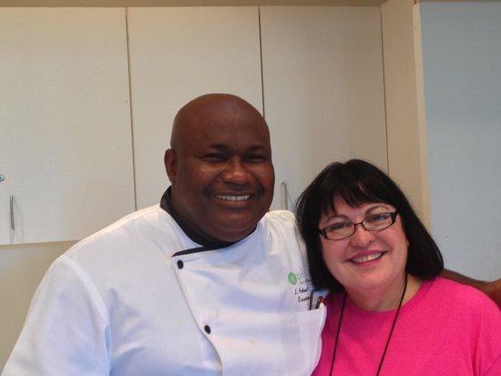 Pritikin Longevity Center & Spa: Executive Chef Stuart