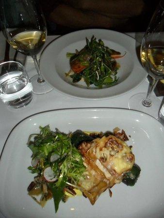 Le Clocher Penche Restaurant : Vegetarian Plate