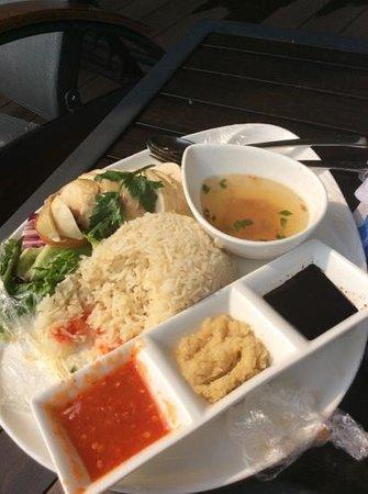 Holiday Inn Melaka : chicken rice :)