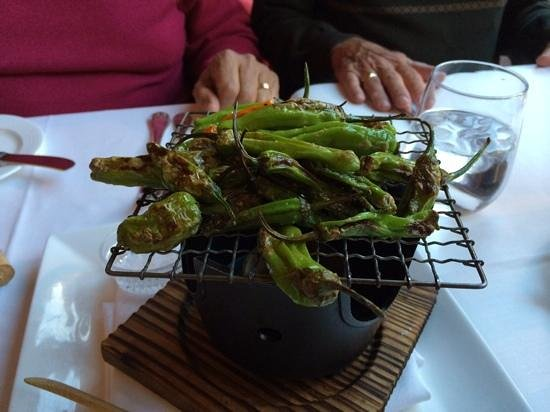La Tour Restaurant: Yummy grilled shishito peppers