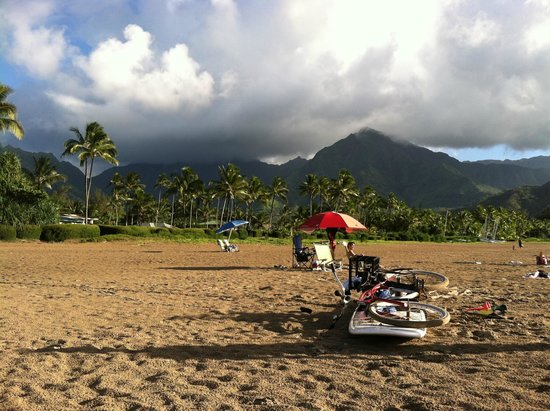 Hanalei Beach: you gotta be there