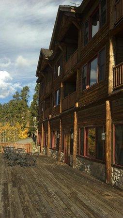 The Lodge at Breckenridge: our room far left