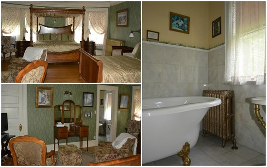 Laurium Manor Inn: One of the rooms