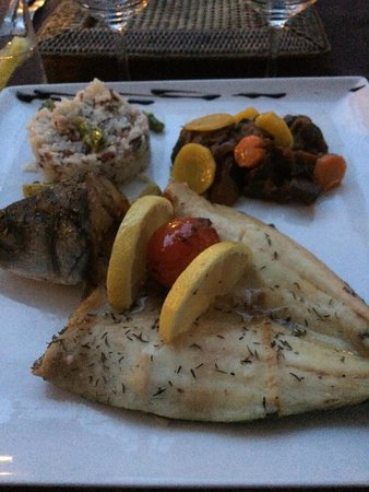 Chez Grand Mere: Grilled fish