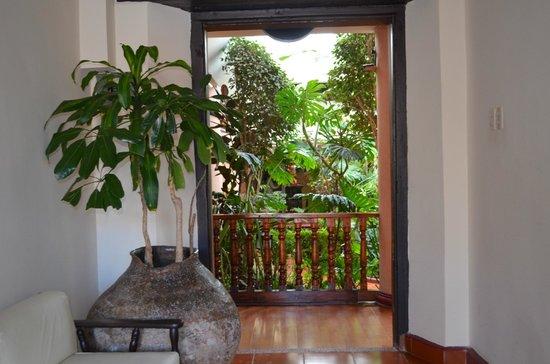 Hotel Jardines del Centro: Территория отеля
