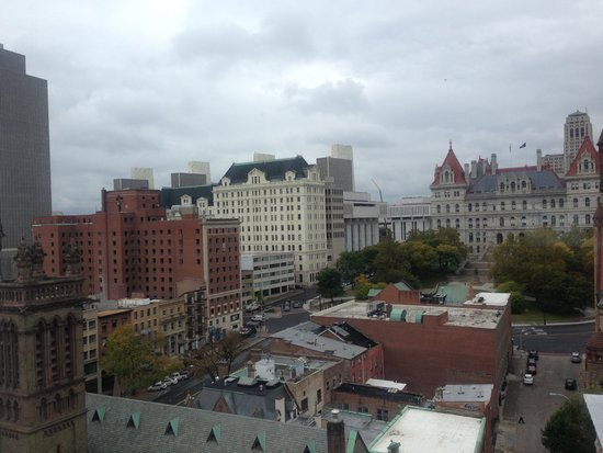 Hilton Albany: great view!