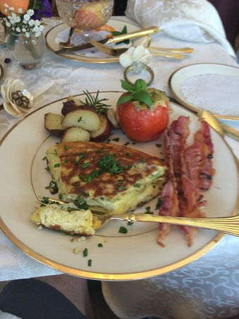 The Tower Cottage B&B : Breakfast