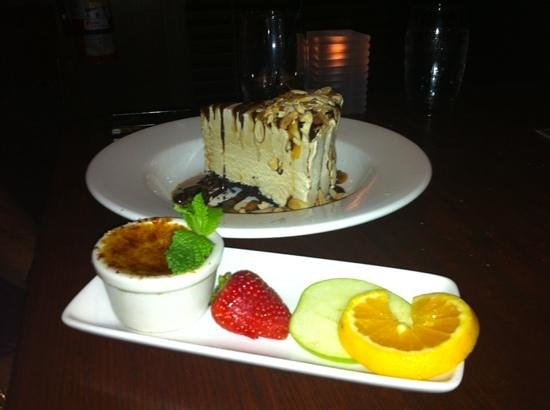 The Keg Steakhouse + Bar Burnaby: awesome dessert!